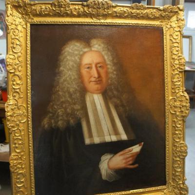Portrait d'homme 18è