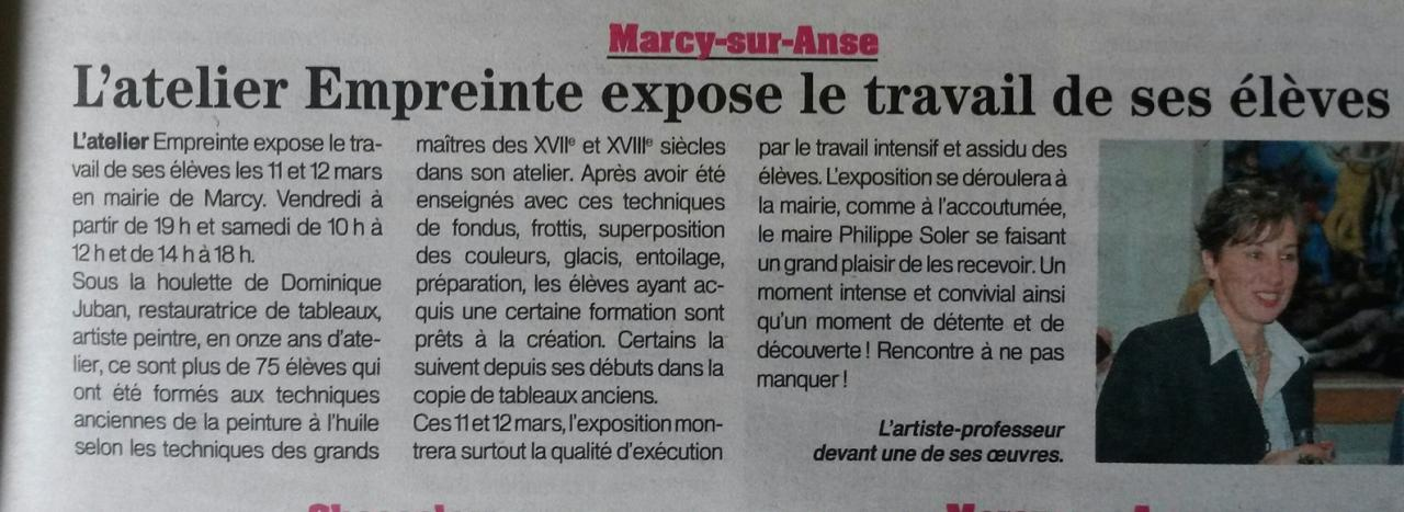 article M.Blanchon-Patriote Beaujolais