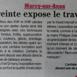 article M.Blanchon-Patriote Beaujolais