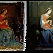 vierge-lisant-avant-et-apres-restauration