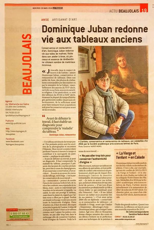 Article dominique juban