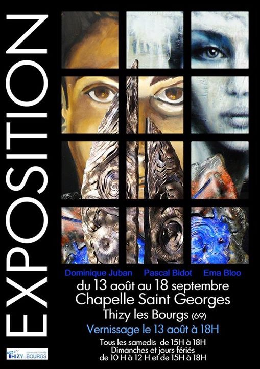 Expo dominique juban 08 2016