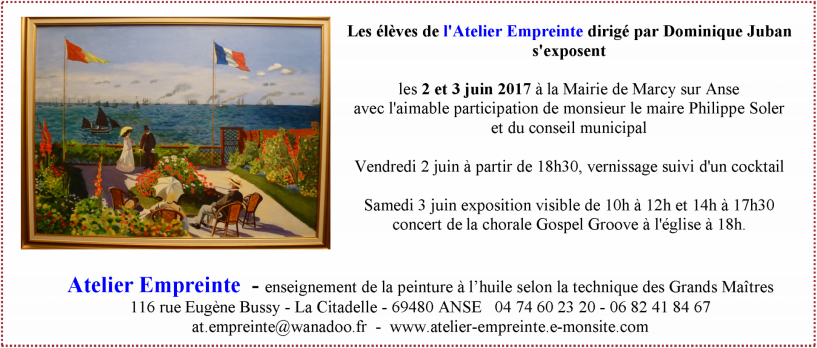 Expo eleves ae printemps 2017